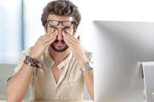 Reduce Eye Strain with Blue Light Blocking Glasses