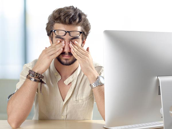 Reduce Eye Strain with Blue Light Blocking Glasses