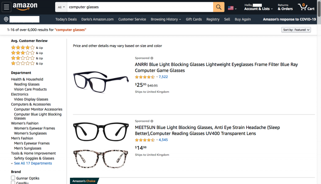 computer-glasses-on-Amazon